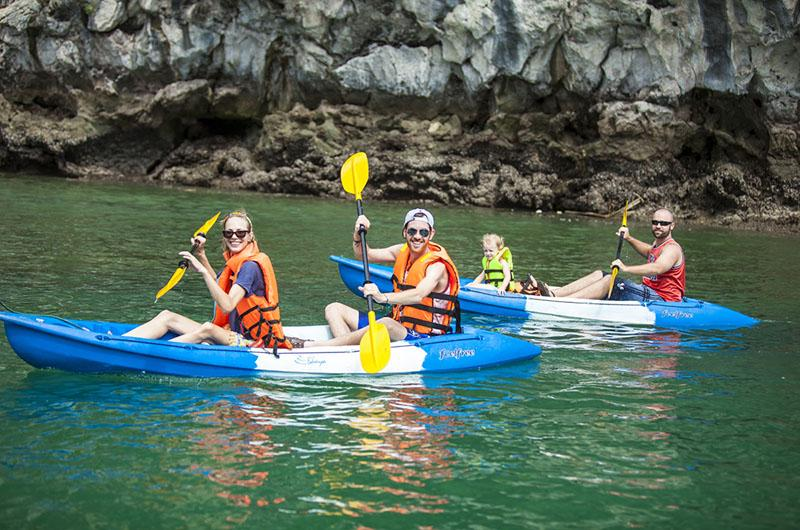 The Au Co Cruise Kayaking experience