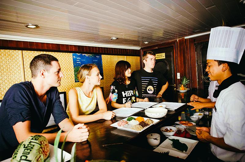 Personalized food experience on Bhaya Legend Private Cruise