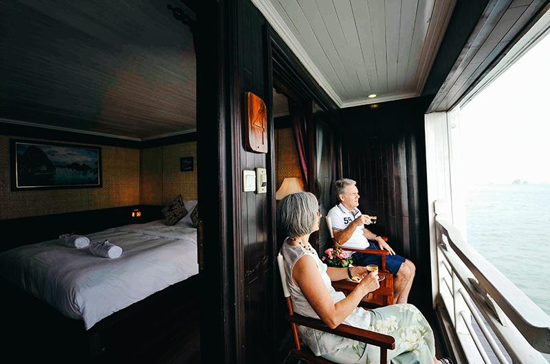 Legend Halong cruise a corner of ultimate privacy
