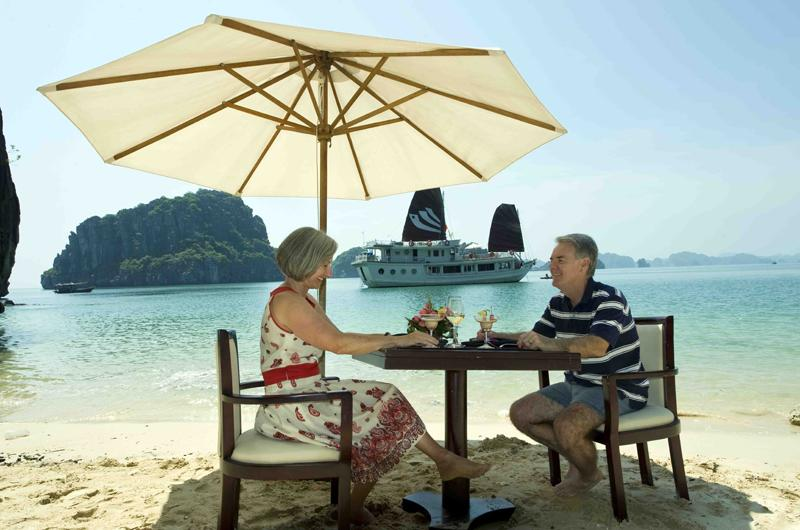 Ultimate privacy experience on Legend Halong cruise