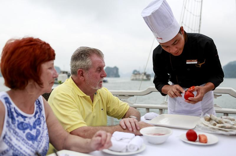 Legend Halong private cooking class