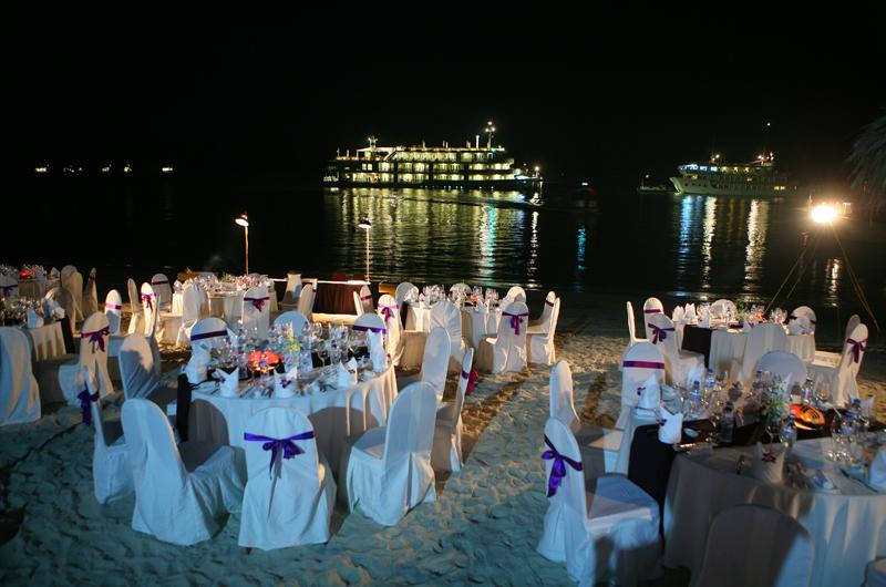 Gala Dinner on Titop Island with Bhaya Group