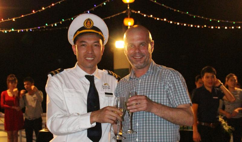 Le Van Giang Captain The Au Co Cruise