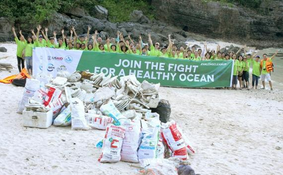 """Join The Fight For A Healthy Ocean"""
