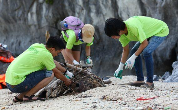 Clean the Bay - Halong Bay